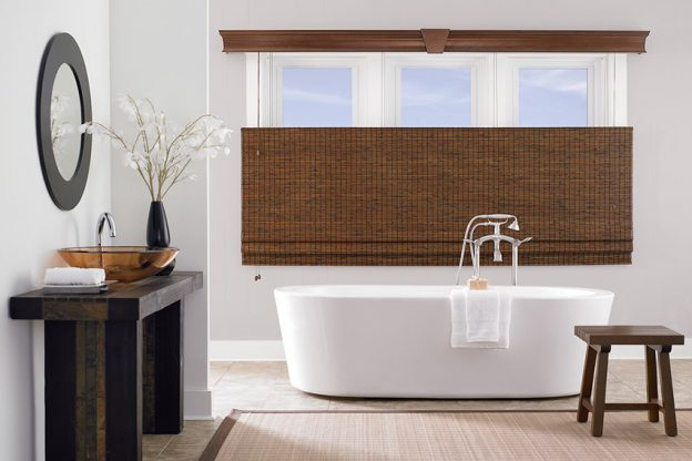 2020's Minimalist Home Decor Trend may guide buyers towards bamboo shades.