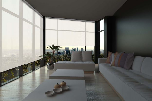 Blinds Chalet has many motorized window shades compatible with smart homes for home automation.