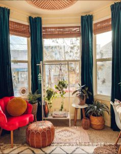 how to make a window your focal point