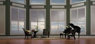 living room window treatments