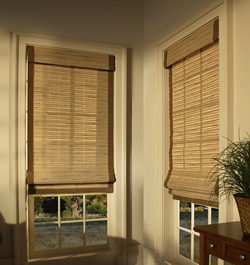 Bamboo Blinds with Edge Binding