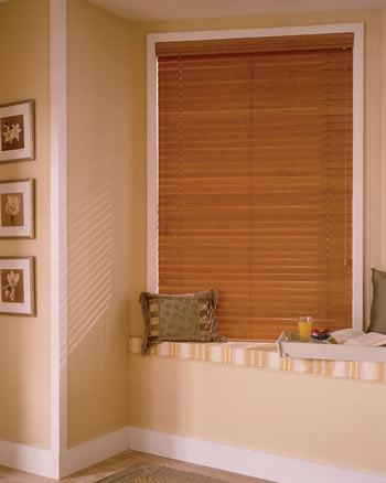 Closed Wood Blinds