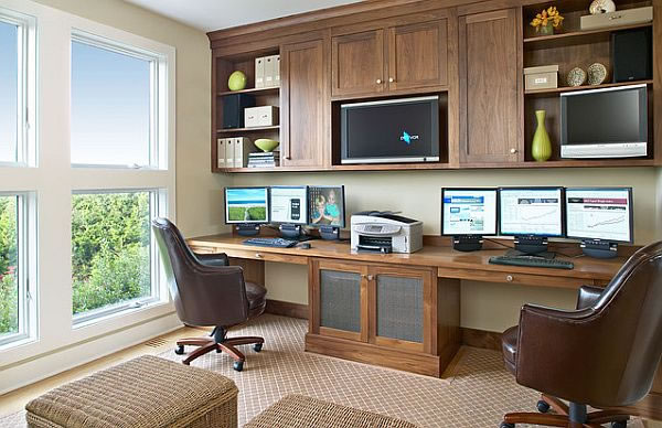 5 tips for designing an efficient home office