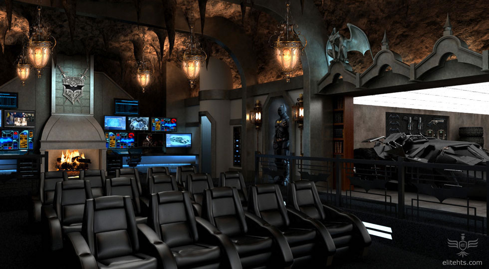 Amazing Dark Knight Rises Home Theater
