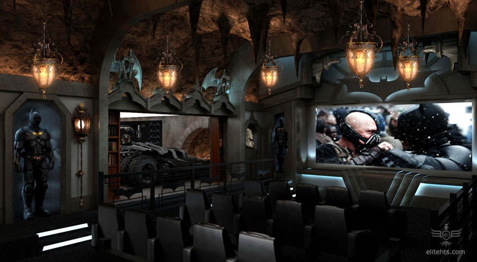 Custom Dark Knight Rises Home Theater