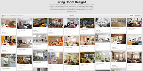 pinterest-living room design