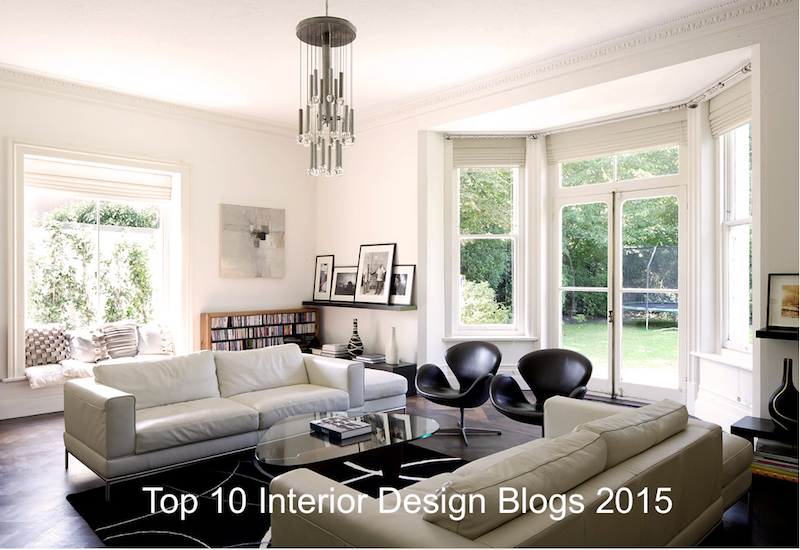 Top 10 Interior Design Blogs For 2015