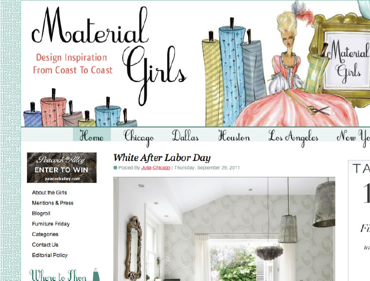 Material Girls Blog