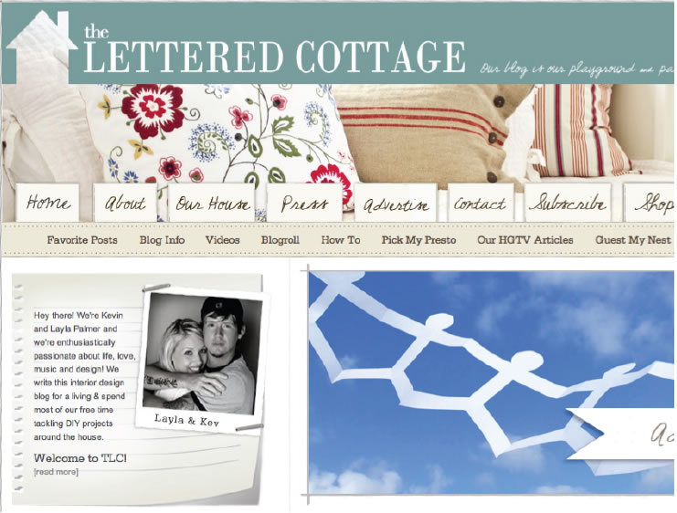 The Lettered Cottage Blog