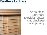 routless blinds