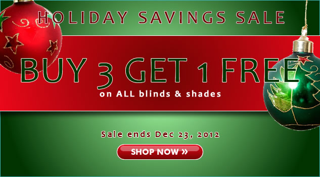 Holiday Savings Sale! 30% + Buy 3 Get 1 FREE!