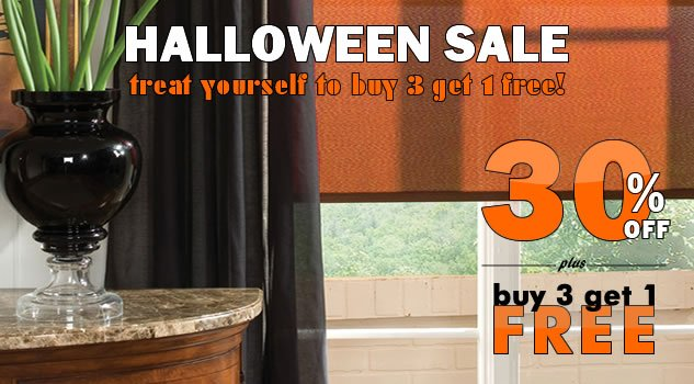 Halloween Savings Sale! 30% + Buy 3 Get 1 FREE!