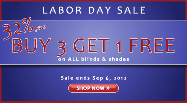 Labor Day Sale! 30% + Buy 3 Get 1 FREE!