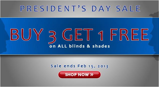 Presidents Day Sale! 30% + Buy 3 Get 1 FREE!