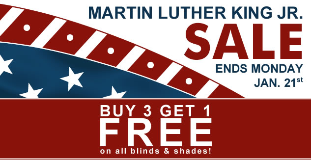 Martin Luther King Jr. Sale! 30% + Buy 3 Get 1 FREE!