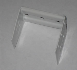 window blinds center support mounting bracket