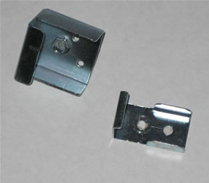 horizontal blinds metal valance clips