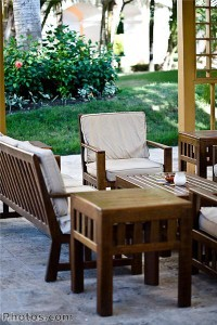 Homeowners should plan out how their outdoor spaces will be used before starting a design scheme for them.