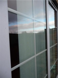 Tons of windows could require roller shades.