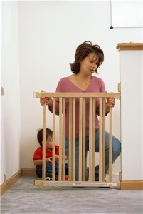 Child-proofing a home should include using cordless window blinds or shades as a safety measure.