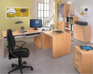 Modular home office furniture is in keeping with the principles of modular home construction.