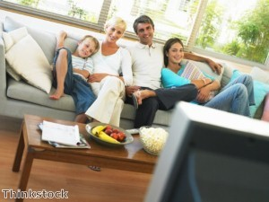 Family rooms can be zoned for different activities that appeal to the whole family.