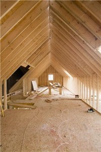 Expanding living space by renovating an attic requires strict adherence to building codes.