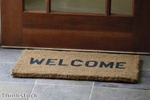 Creating a welcoming decor at a home's entryway makes a good impression on visitors.
