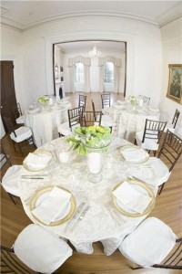 Dining rooms can be reconfigured to suit the occasion.