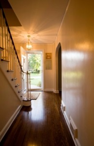 A home's entrance is where the first impression of the decor is made on visitors.