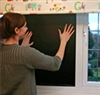 Select functional shades when decorating a nursery