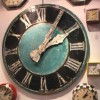 Clocks can be decorative as well as functional.
