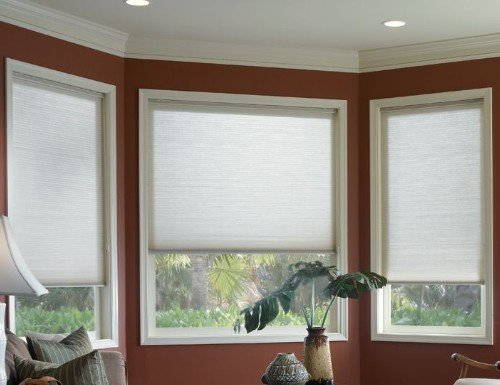 "Deluxe 3/8"" Translucent Double Cell Shades"