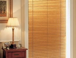 White Express 2 inch Wood Blinds