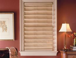 Comfortex® Suede Roman Shades