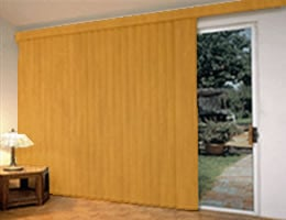 "3 1/2"" Premier Wood Look Vertical Blinds"