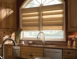 Comfortex® Fabric Light Filtering Roman Shades