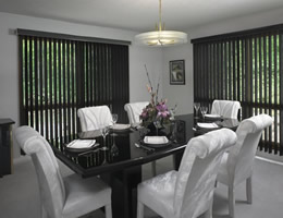 "Metallic PVC 3 1/2"" Vertical Blinds"