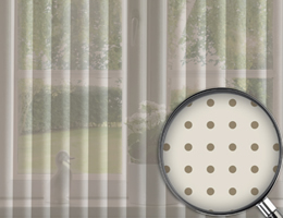 Perforated Vertical Blinds Translucent Vertical Blinds
