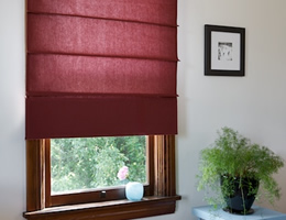 Valencia CORDLESS Light Filtering Roman Shades
