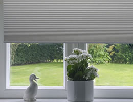 "Cordless 9/16"" Blackout Single Cell Shades"