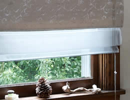 Privacy Liner For Roman Shades
