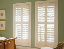 Chalet Composite Shutters - Whites