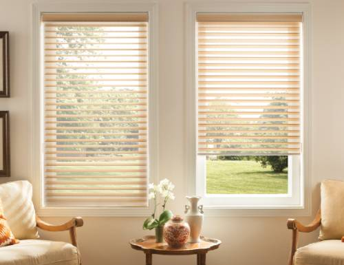 Chestnut Light Filter Horizontal Sheer Shades