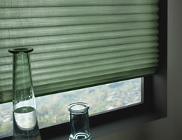 Light Filtering Pleated Shades w/ No Holes Privacy