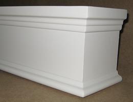 5 1 2 Inch Signature Wood Cornice Wood Valance