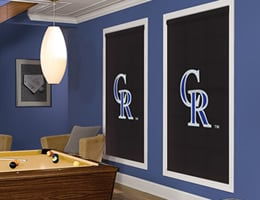 Colorado Rockies Roller Shades