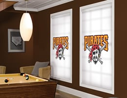 Pittsburgh Pirates Roller Shades