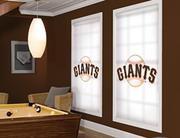 San Francisco Giants Roller Shades