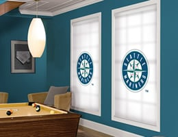 Seattle Mariners Roller Shades